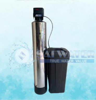 Residential water softener